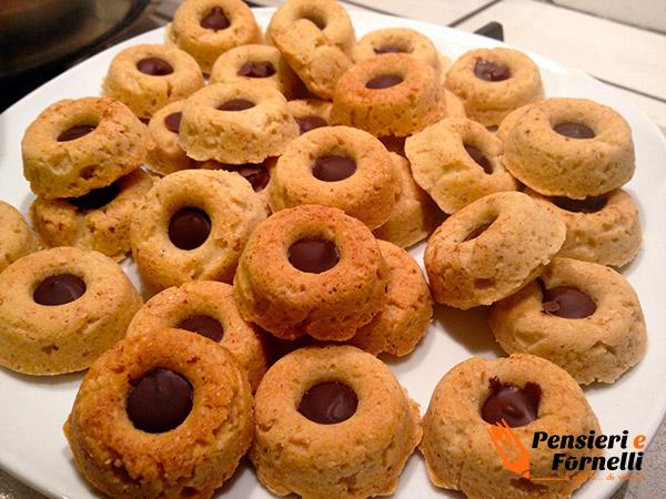Biscotti sablè alle nocciole