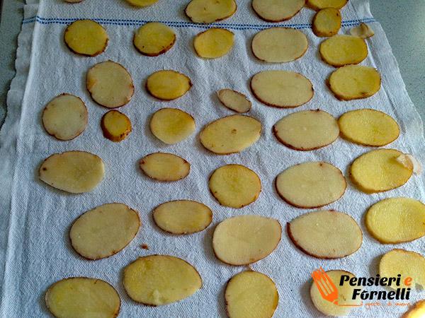 Chips fatte in casa