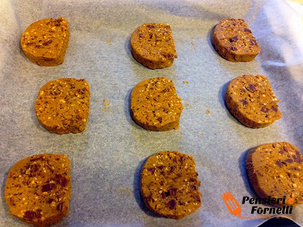 Cookies con gocce di ciccolato