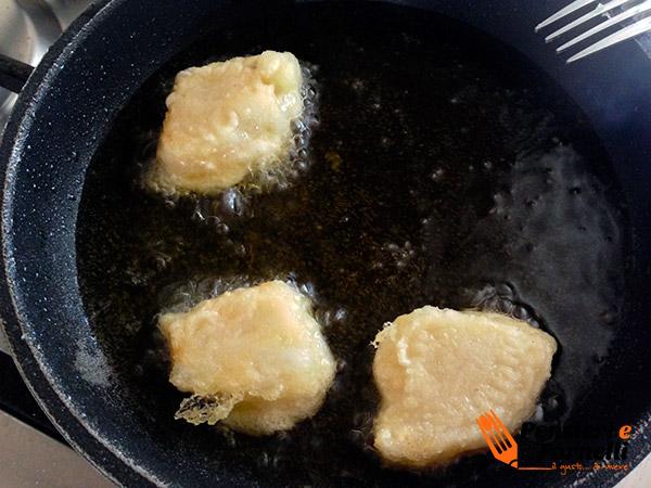 Ricetta natalizia baccalà in tempura