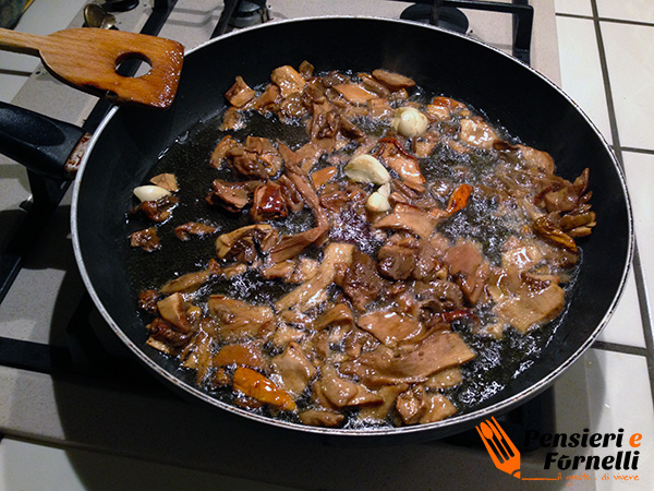 Pappardelle porcini e tartufo