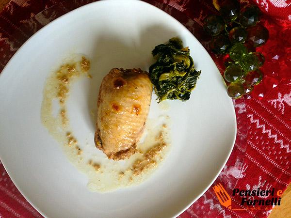 Ricetta Natalizia - Rollè di pollo invernale