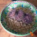 Zuppa di fagioli e cotechino