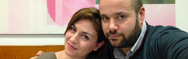 Eva Scialò e Francesco Lalla