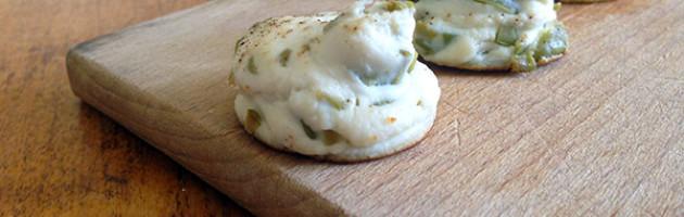 Tartufi di ricotta infornata alle olive
