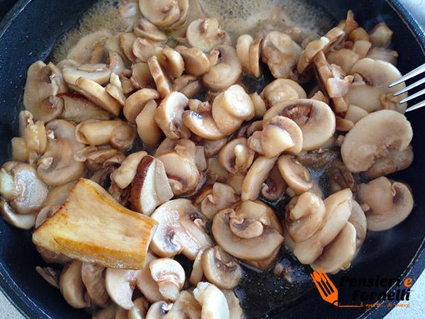 Salsa di funghi