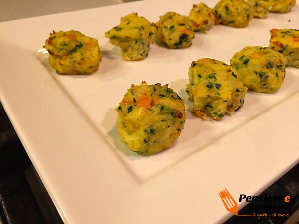 Crocchette di verdure per bambini