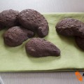 Biscotti gocciole dark
