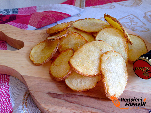 Chips fatte in casa