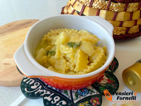 Foto finale pasta e patate classica
