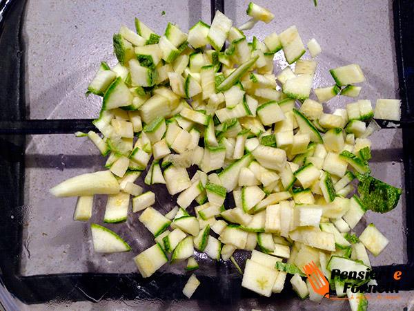 Baby risotto zucchine e formaggio