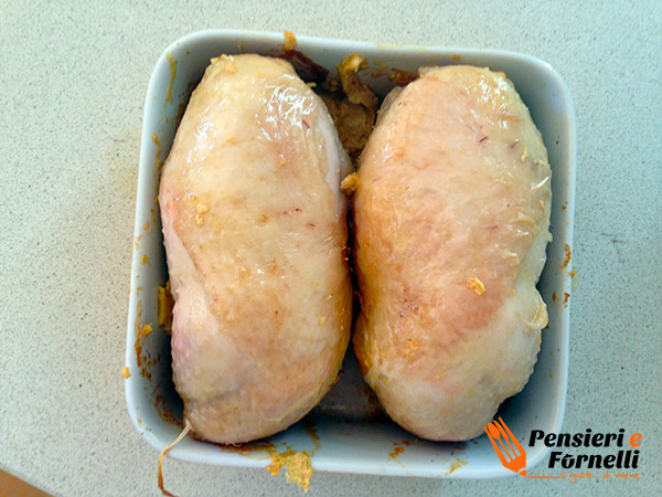 Cosce di pollo ripiene