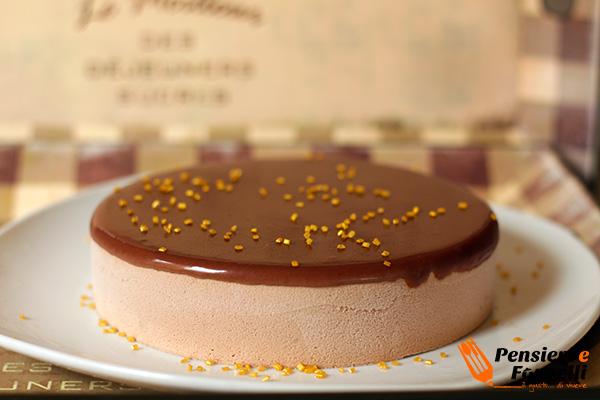 Foto finale della torta nutellota