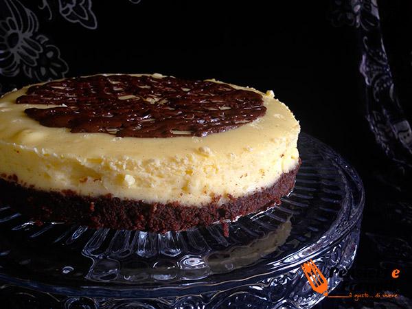 Cheesecake infornata