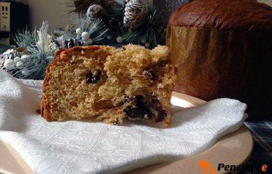 Ricetta natalizia - Panettone classico con lievito madre e gocce di cioccolato di Piergiorgio Giorilli