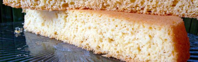 Pan di Spagna, biscuit, masse montate