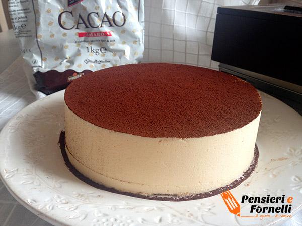 Foto finale della torta tiramisu
