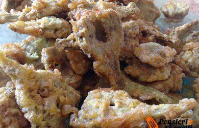 Carciofi fritti alla napoletana
