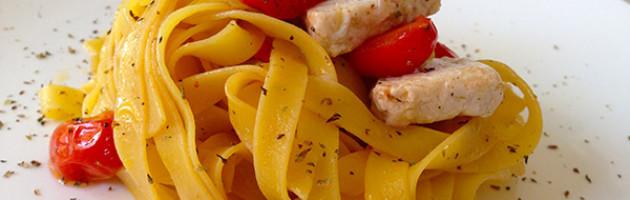 Lasagnette con Pesce Spada