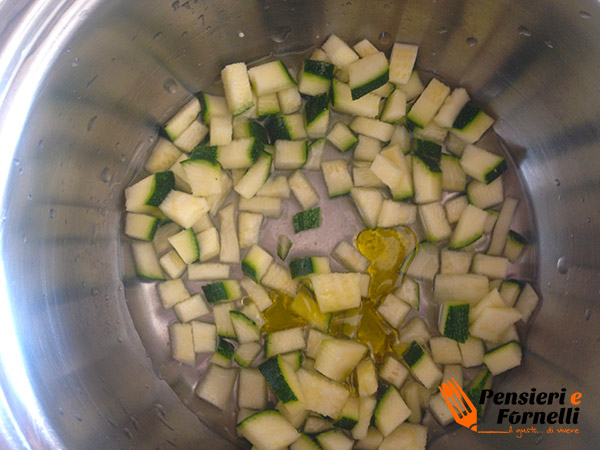 Maccheroncini con crema di zucchine - Ricetta per bambini