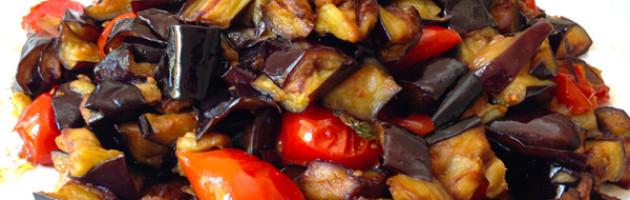 Melanzane a funghetto (Mulignane a Fungetiello) - Ricetta Napoletana