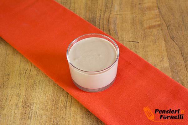 Bavarese al cioccolato al latte