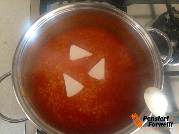 Baby risotto al pomodoro