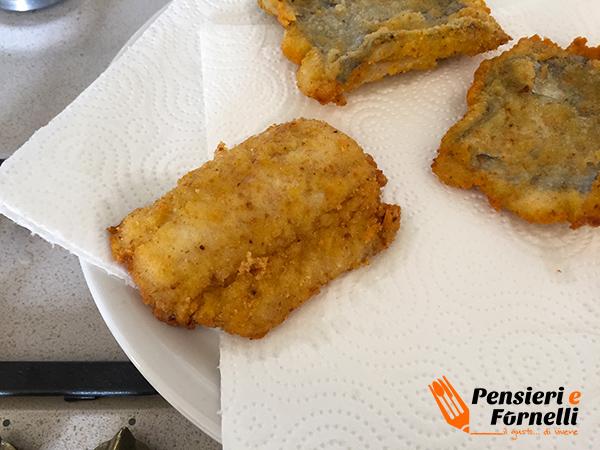 Cotoletta di pesce bandiera