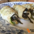 Involtini di petto di pollo light