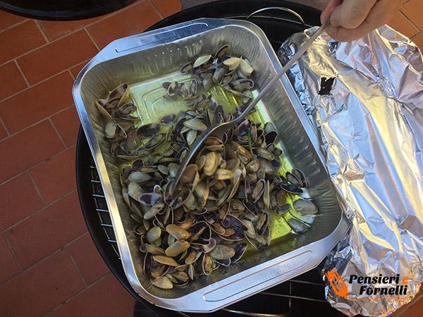 Frutti di mare al barbecue
