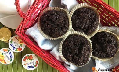 cheese muffin al cacao
